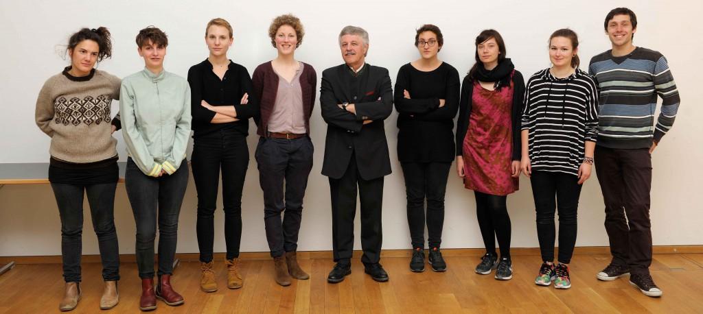 Dr Schoeffel & Karianne Fogelberg im Workshop 'Zukunft des Alterns'