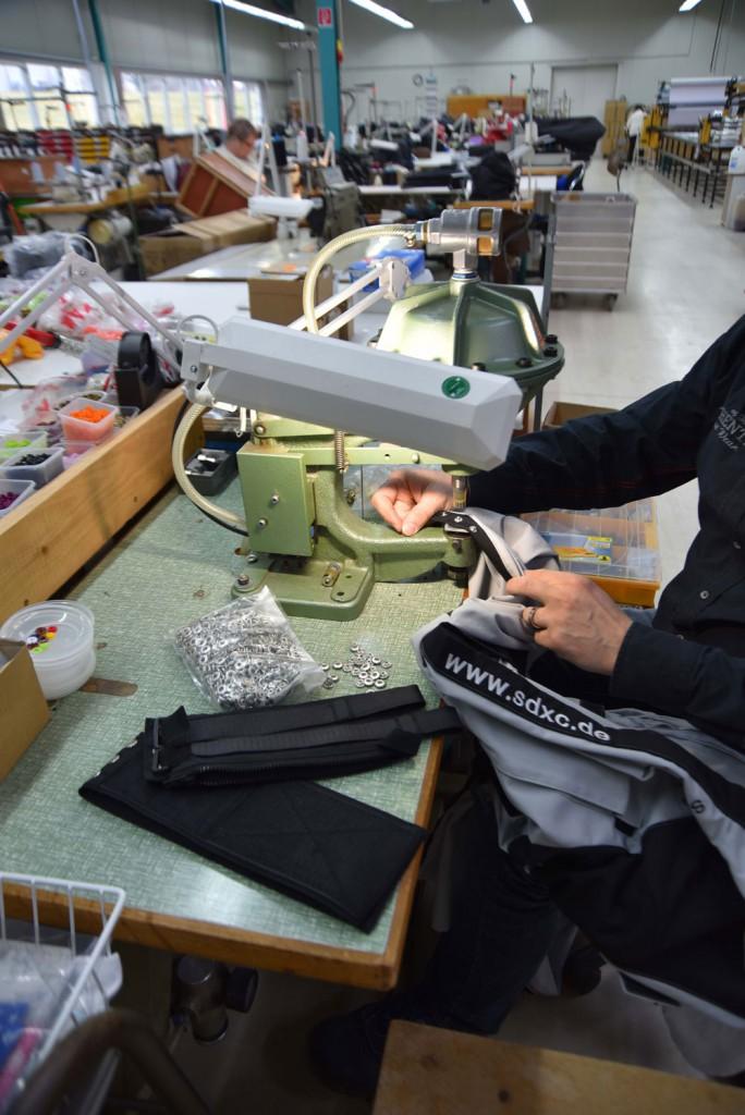 Druckknöpfe für den Senior Suit